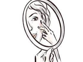 Медицинский камуфляж или маскировка шрамов и других дефектов кожи.